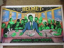 Helmet - original USA Poster von Emek signiert und nummeriert, 1995