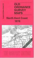 Old Ordnance Survey Map North Kent Coast 1878 - England Sheet 273