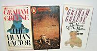 Lot of 3 Graham Greene  paperbacks