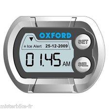 Montre thermomètre de guidon OXFORD affichage numérique vélo moto Watch