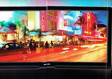 Publicité Advertising 058  2009   Philips  téléviseur cinéma 21/9  ( 4p recto ve
