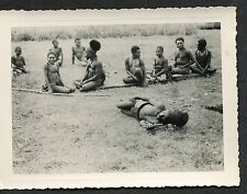 C1946 Original Photo of a Group of Natives from one of Indonesian Islands