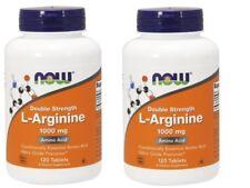 Now Foods - L-Arginine, 1000 mg - 2 Pack
