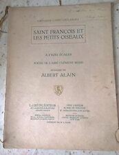 Saint François et les petits oiseaux, à 2 voix égales - Chant et Piano