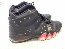 NIKE AIR MAX CB34 BLACK SNEAKERS    SIZE 13    LIGHTLY WORN      CHARLES BARKLEY