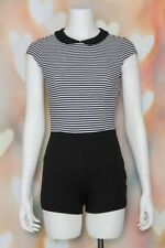 69233ae9c6 NWOT Chic COOPERATIVE Urban Outfitters NAUTICAL Sailor Catsuit ROMPER  Playsuit S
