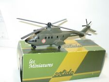 SOLIDO, 1 hélicoptére militaire PUMA  KAKI de l'armée de terre
