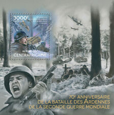 More details for central african rep military stamps 2014 mnh wwii ww2 battle of bulge 1v s/s
