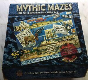 ESCAPE FROM ALCATRAZ, Mythic Mazes 1000-Piece Jigsaw Puzzle by MasterPieces