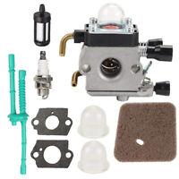 Carburetor for STIHL FS45 FS46 FS55 KM55 FS85 Air Fuel Filter Gasket Carb Kit RS