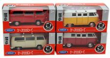 Welly Scale Model Die Cast Pull Back VW Camper Van ~ Design And Colour Vary