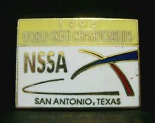 1994 Nssa National Skeet Trap Shoot World Championships Award Pin San Antonio Tx