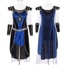 Medieval Victorian Knights Cape Dress Cosplay Costume Halloween Cosplay