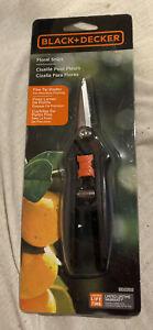 Black & Decker Floral Garden / Craft / Fabric Snips BD2302 Compact w/ Fine Tip