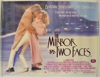 THE MIRROR HAS TWO FACES (1996) Quad Film Poster - Barbra Streisand Jeff Bridges