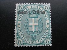 ERITREA ITALIAN COLONY Sc. #3 scarce mint stamp! SCV $55.00