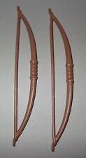 25824 Arco largo marrón 2u playmobil,bow,longbow,archer,arquero,robin hood