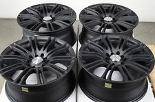 16x7.0 Matt Black Wheels Rims 5x100 5x114.3 Volkswagen Beetle Golf Passat Jetta