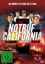 25 DVD-Box ° Notruf California Emergency ° Staffel 1 - 5 komplett ° NEU & OVP