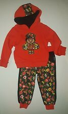 """Girls Trukfit """"Hoodie Shirt & Jogger Pants  2-Piece Outfit Set Size 2T"""