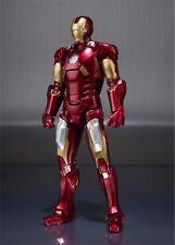 Iron Man MK-VII + Set Hall de Armadura Marvel S.H Figuarts Figura 15 cm