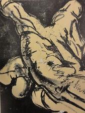 SALVADOR DALI - Homenaje a Meissonier. Litografia LA MANO