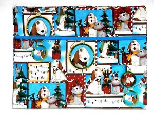 Toddler Pillowcase for Christmas Dogs&Cats Multi-color 100%Cotton #CH22
