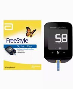 Abbott Optium Neo Freestyle Blood Glucose Monitor ::No Coding::