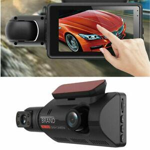 3in 1080P Car DVR Camera Dash Cam Dual Lens Hidden Video Recorder Night Vision