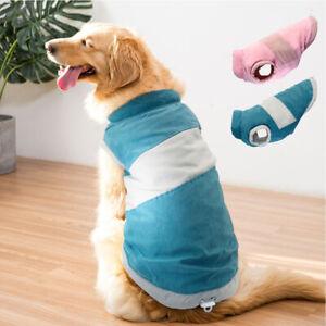 Dog Winter Coat Soft Warm Padded Windproof Jacket for Medium Large Dogs Labrador