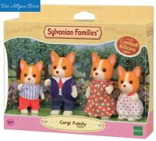 Sylvanian Families 5509 Corgi Hunde Familie Limited Edition selten Neu OVP