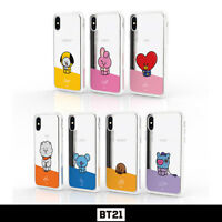BTS BT21 Official Authentic Goods Mirror Jelly Case By GCASE + Tracking Number