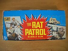 1966 RAT PATROL DISPLAY CARD BOX TOPPS (no packs)  *HARD TO FIND*
