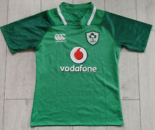 "Ireland Rugby 2017/2018 ""S"" Shirt Canterbury Home Jersey IRFU Trikot Top"