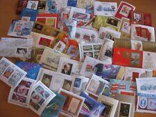 150 verschiedene Blockausgaben / Blocks UDSSR / Sowjetunion  / CCCP gestempelt