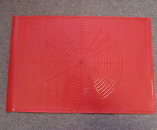 New Silicone Baking Mat - Red - Engrave Liner Kitchenware Silicon Bakeware