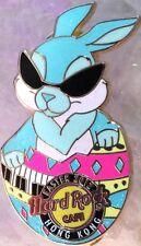 Hard Rock Cafe HONG KONG 2012 EASTER PIN Cool Shades Bunny in Egg - HRC #66787
