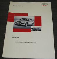 Audi Q5 Selbststudienprogramm SSP 433 Stand 07/2008
