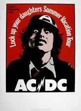 AC/DC famous Aussie 'Daughters' 1975 POSTER
