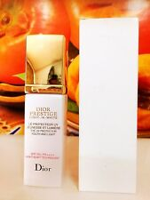 DIOR PRESTIGE LIGHT-IN-WHITE THE UV PROTECTOR YOUTH AND LIGHT 30ML NEW IN WHITE