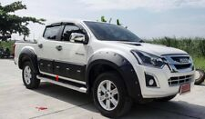 Fit For Isuzu D-Max Dmax 2016 - 2018  Black Body Cladding Big Size Side Door