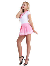 Women Sexy Costumes Uniforms Fancy Dress Cosplay Halloween Outfit Set Clubwear