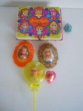 KIDDLE JEWELRY TREASURE BOX ,KIDDLE NECKLACE, LOTTIE, LOLA LOCKETS , LOLLI-LEMON