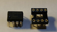 GENUINE Texas Instruments LM4562NA LM4562 Dual Opamp PDIP8 + FREE Quality Socket