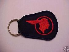 1935 to 1966 PONTIAC Indian Head key chain--brand new heavy duty w/embroidered