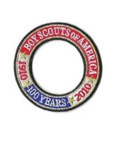 New Boy Scouts BSA 100 Year Anniversary Patch