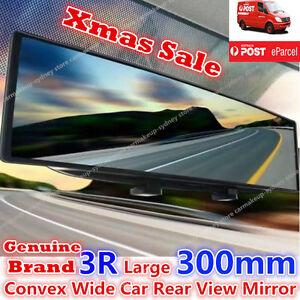 Genuine Brand Universal 300mm Convex Wide Car Rear View Mirror Blind Spot Mirror