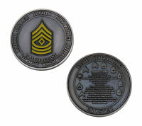 US Army First Sergeant Challenge Coin