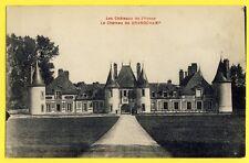 cpa Ecrite en 1934 Bourgogne CHÂTEAU de GRANDCHAMP (Yonne) Castle Schloss