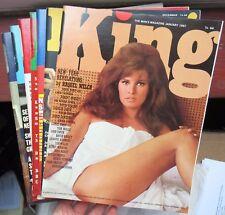 7 King Magazine - 1967 Raquel Welch Nancy Sinatra Playboy's 1960s British rival